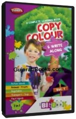 Learn to Colours & Write along Vol-1