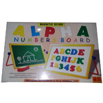 Magnetic Deluxe Alpha Numbers Board